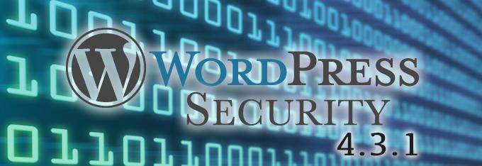 wordpress security update 4.3.1