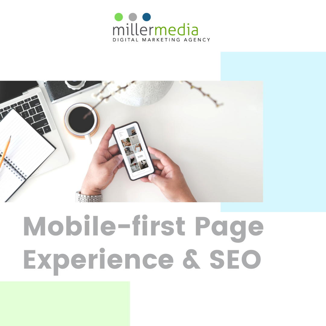 mobile first page & seo